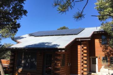 Solar panels Mt Baldy
