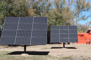 Solar panels San Fernando