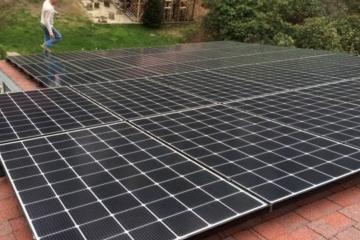 Solar panels install Tustin