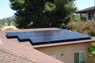 Solar panels install San Clemente