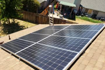 Thousand Oaks Solar install - 2
