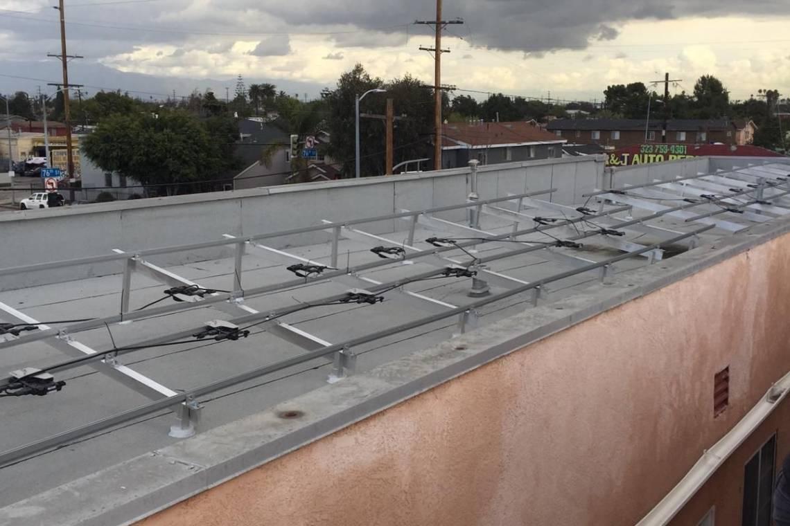 Los Angeles Solar install - 6